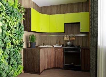 Кухонный гарнитур San 2100 угловой