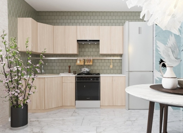 Кухонный гарнитур San 2400 угловой