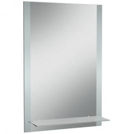 Зеркало Классика 01  500х800 с полкой матовое