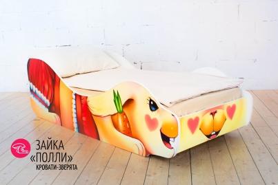 """Детская кровать Зайка """"Поли"""""""